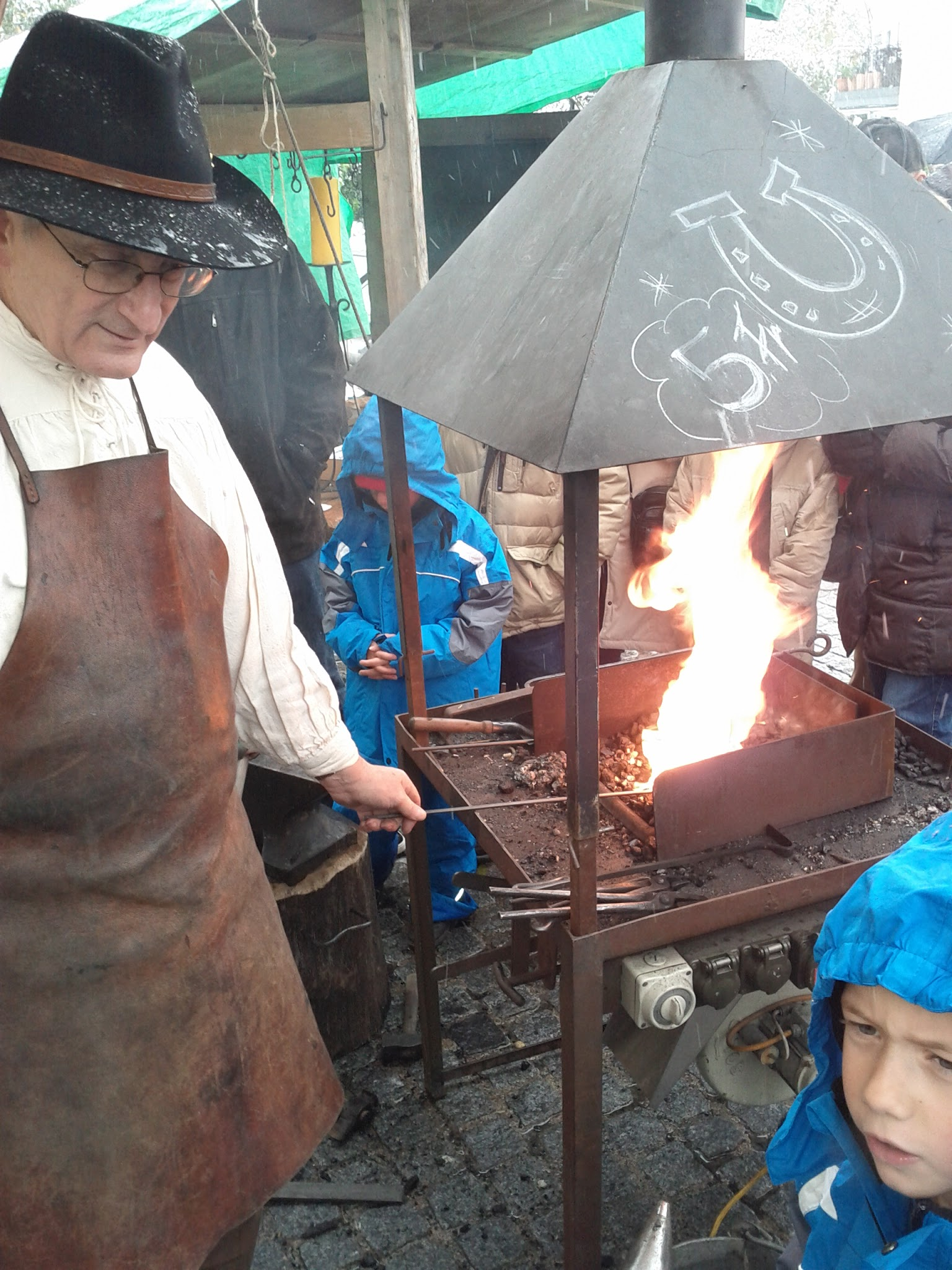 At the mediaeval forge