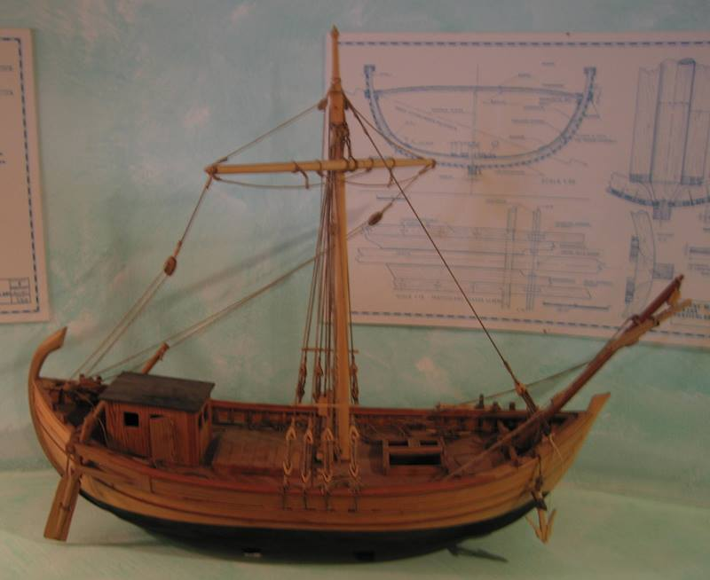 RomanShip in the archeological museum of Marciana Alta