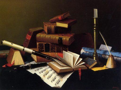 music_and_literature_william_michael_harnett