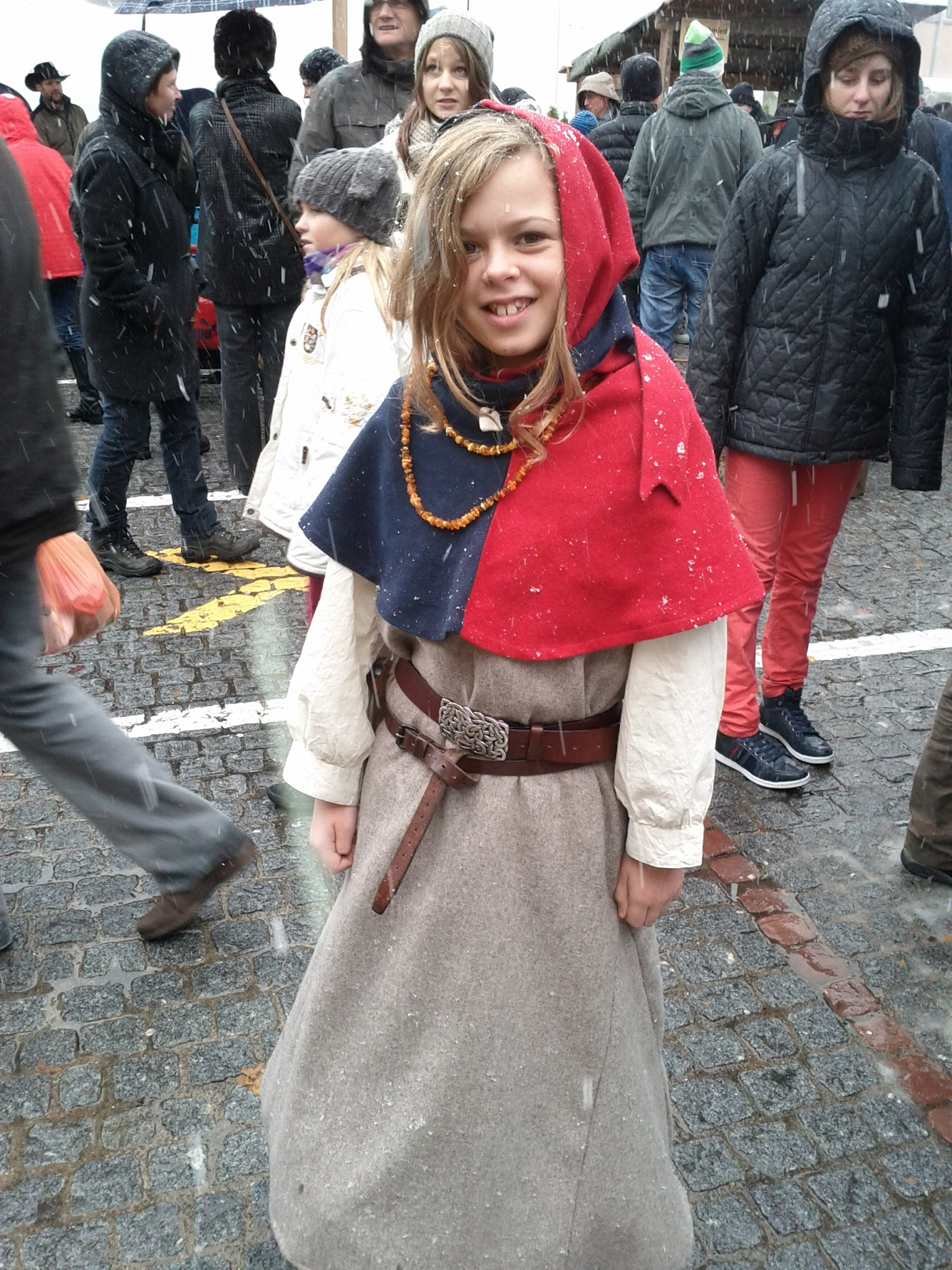 Pretty mediaeval miss