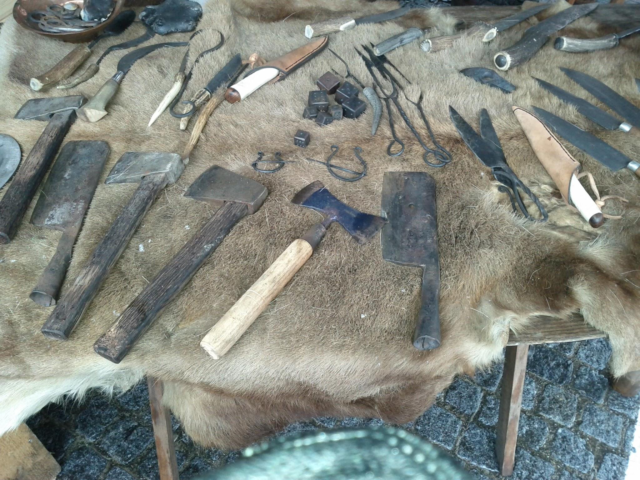 Mediaeval hand tools