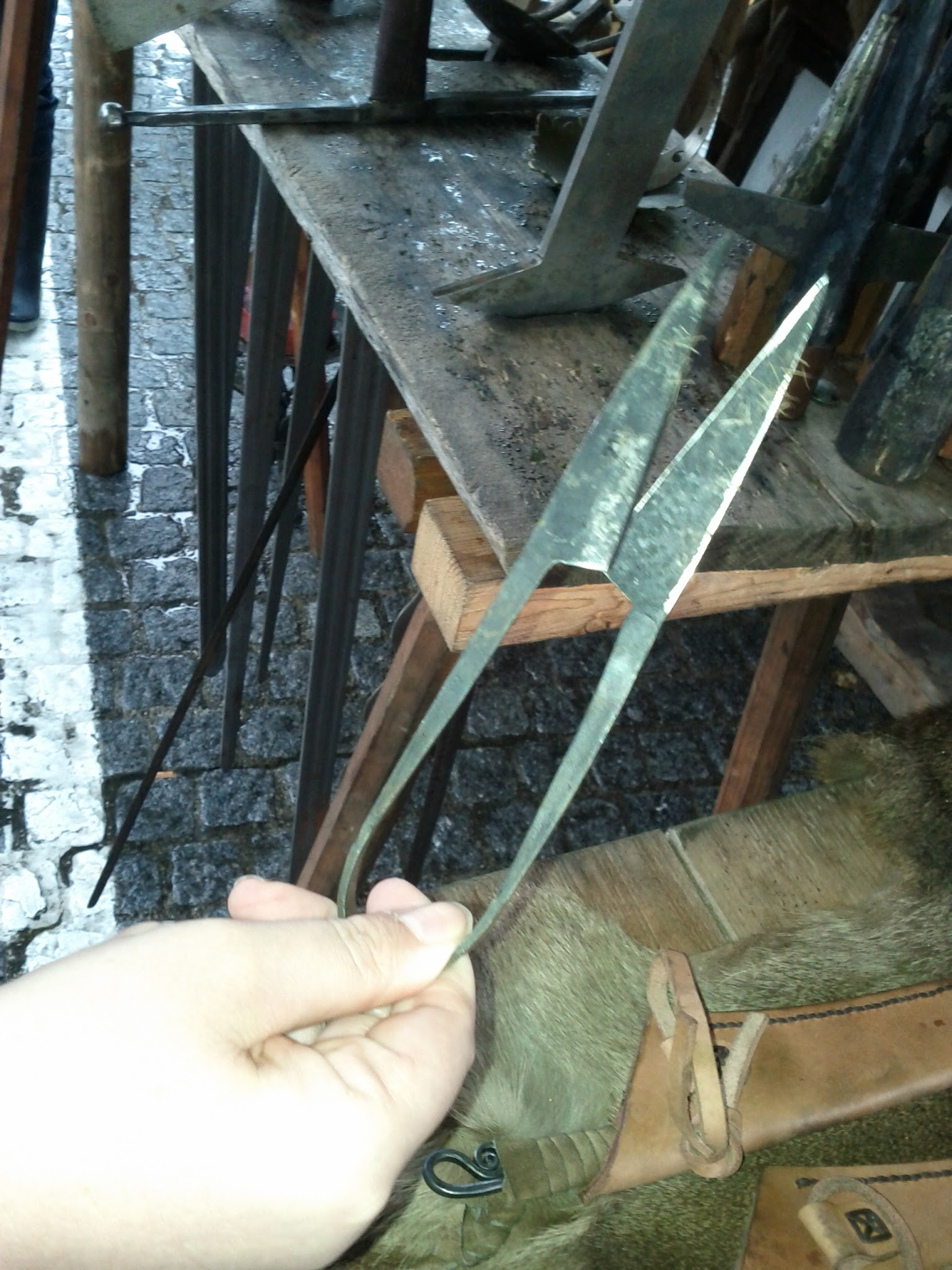 Mediaeval scissors