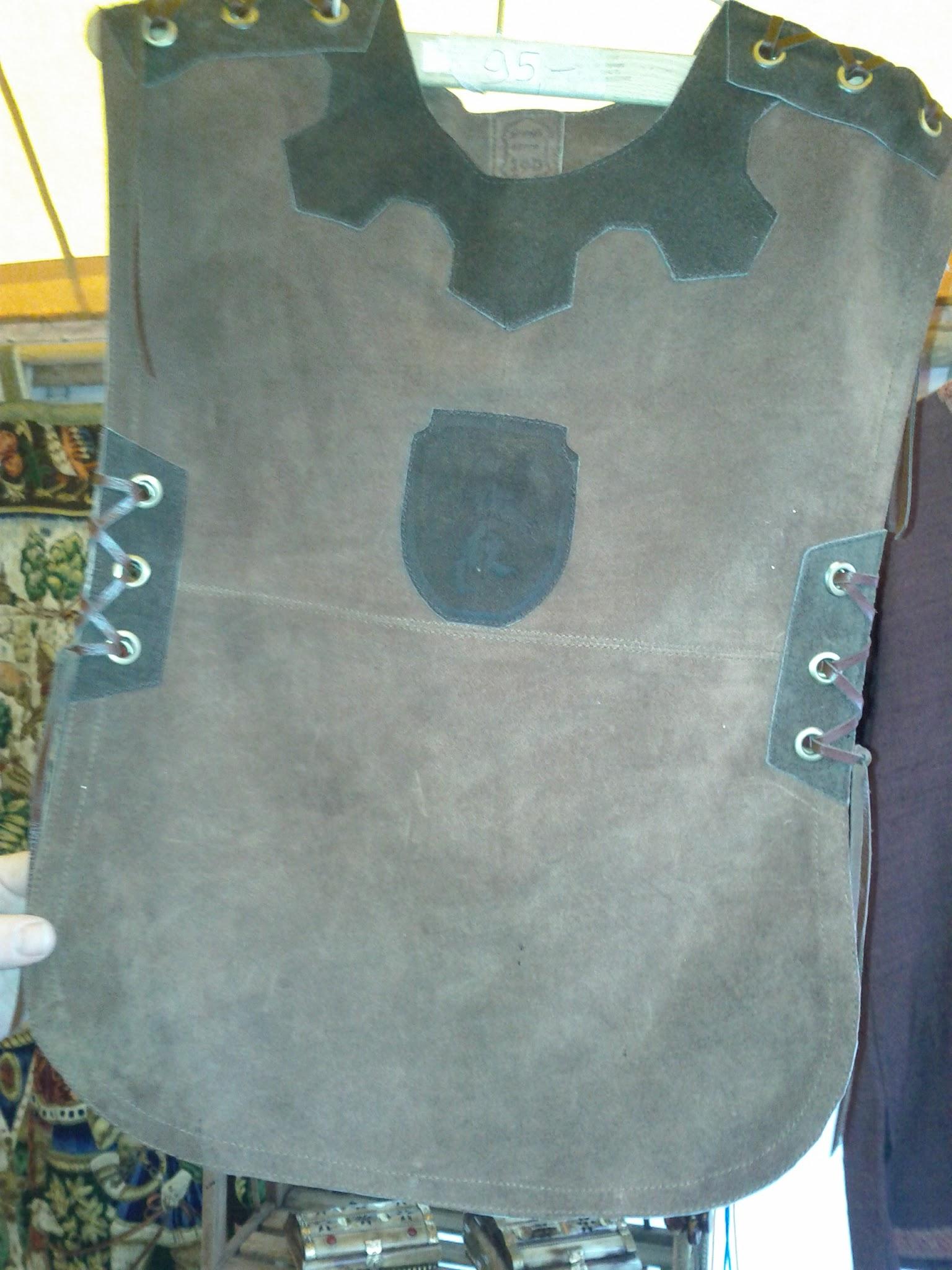 Mediaeval leather tunic