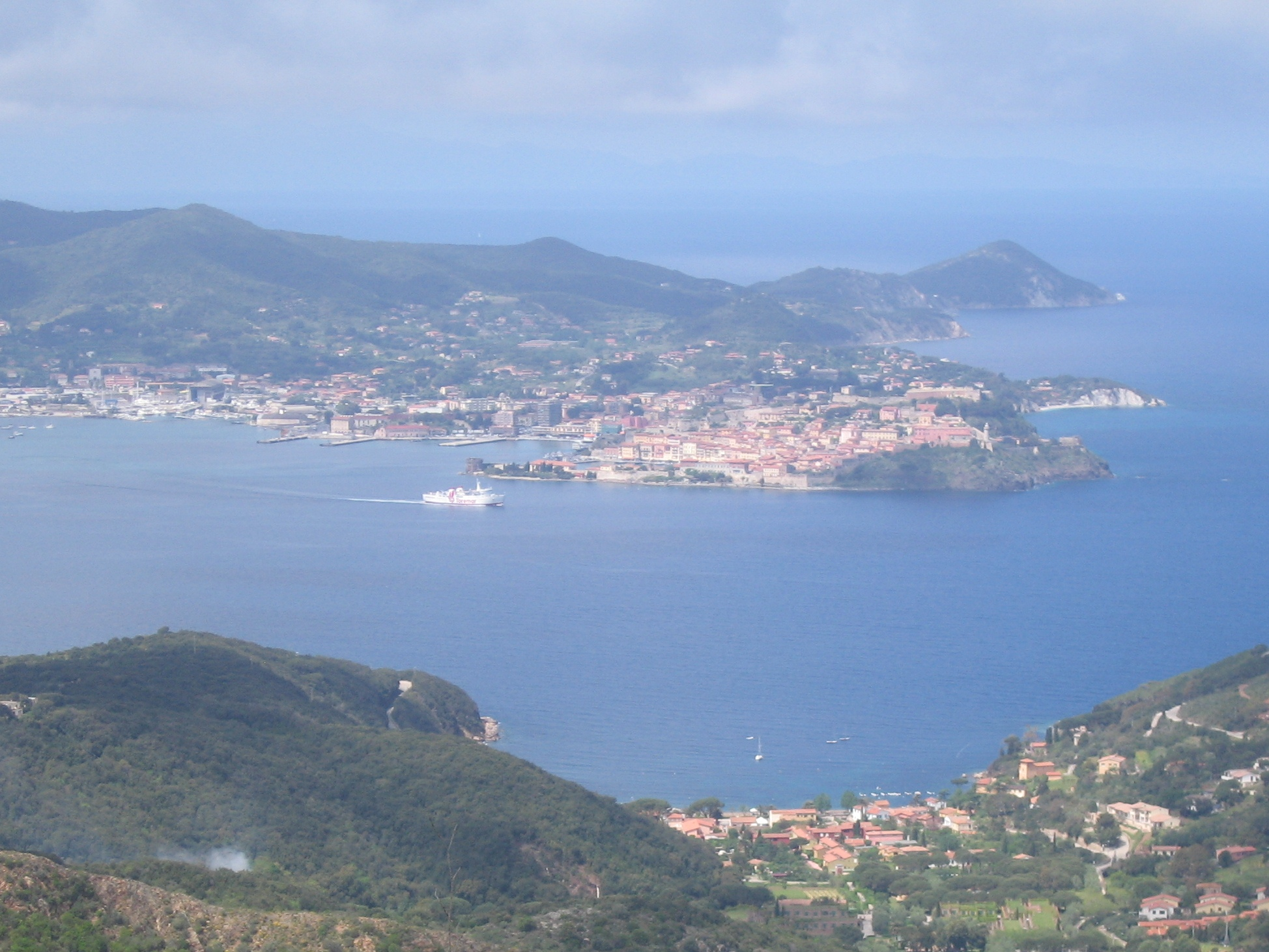 Portoferraio from the East
