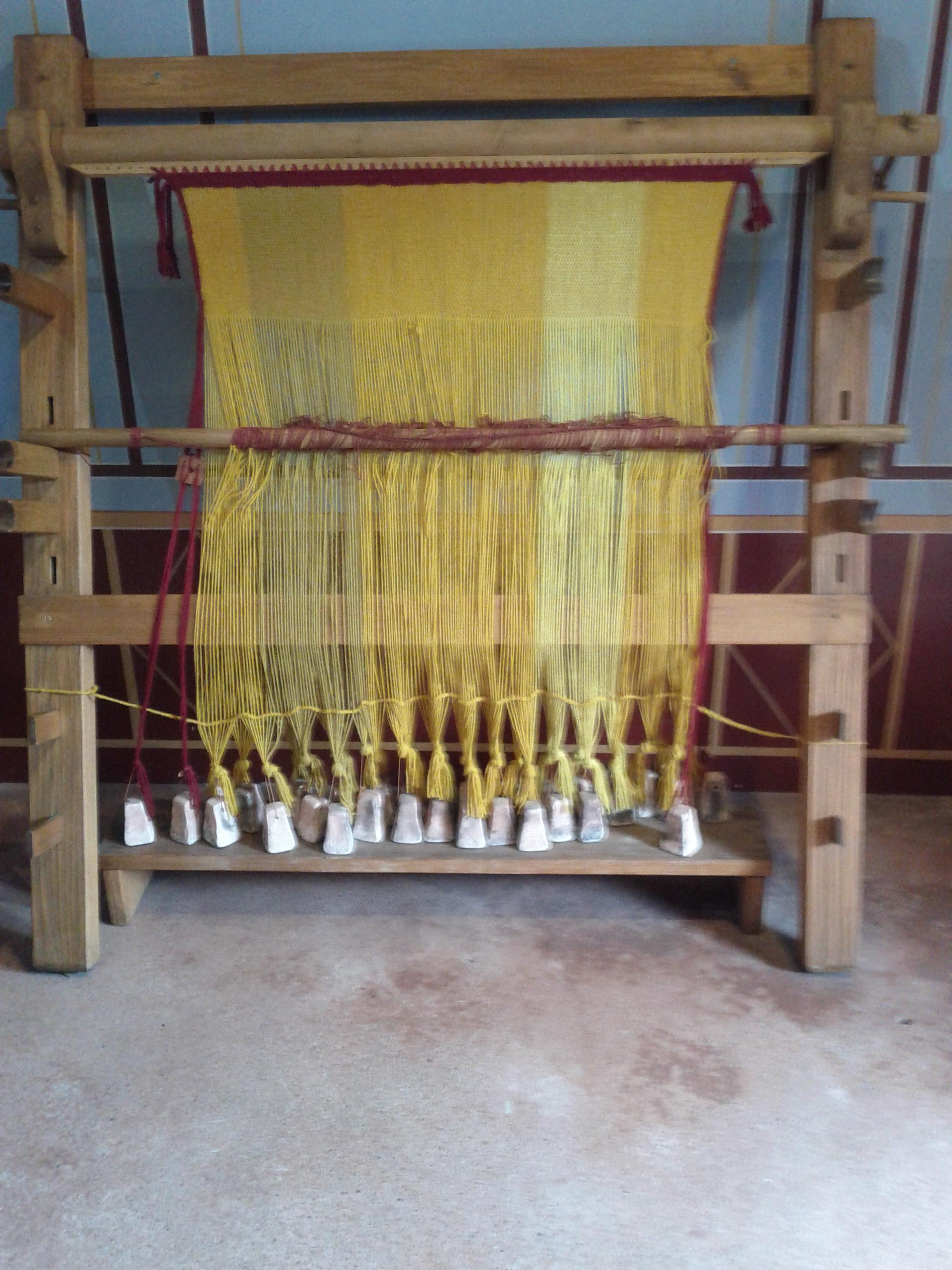 Roman house: Loom
