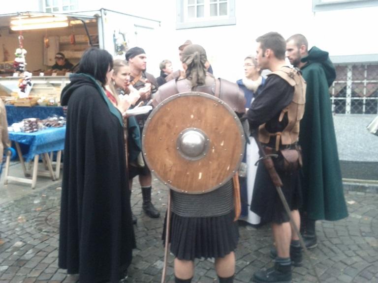 Mediaeval warriors