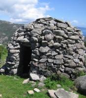 Dry-stone hut