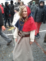 Pretty mediaeval miss