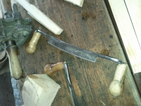 Mediaeval draw knife