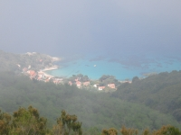 Zanca-Sant'Andrea peeping out of the fog