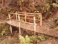 Bridge on the way to San Cerbone's cave